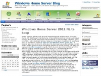 Windows Home Server Blog