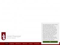 Hotelekamper.nl - Catering, restaurant en zalenverhuur - Hotel Ekamper
