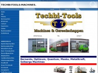 Techbi-Tools, Machinewinkel, Metaalbewerkingsmachines
