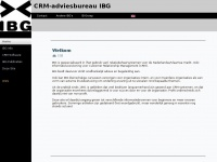 CRM-adviesbureau IBG - Home