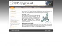 ICP-opgave.nl - Alle informatie over de wijzigingen in de regelgeving met betrekking tot de ICL/ICP-opgave.