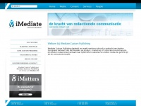 Imediatecustompublishing.nl - Welkom bij iMediate Custom Publishing : iMediate Custom Publishing