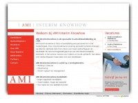 AMI - werving & selectie en interim support voor Database Marketing (Analyse), CRM en Marketing Intelligence