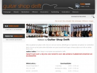 Guitarshopdelft.nl - Home page