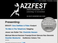 17 maart 2018 - Jazzfest Amsterdam