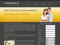 Cialiskopen.nl - Tadalafil kopen en Cialis online bestellen