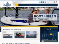 Jft-watersport.nl - Boot huren in Friesland: zeilboot, sloep, polyvalk, suppen | JFT Watersport