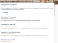 Julia-klein.nl - Default Web Site Page