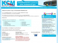 K-c-m.nl - Home - Kievit Copy & Multimedia - Middelharnis - Print Drukwerk Belettering -  Goeree-Overflakkee