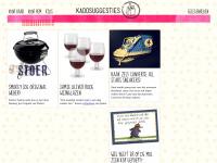 Kadosuggesties.nl - Originele, leuke, mooie kado suggesties!