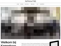 Kamerkooradparnassum.nl - Ad Parnassum – Tilburg