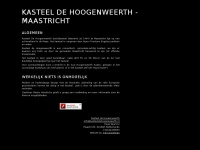 Home - Kasteel de Hoogenweerth; een uniek plekje in Nederland!