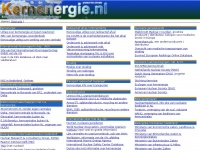 Kernenergie.nl de site met links naar informatie over kernenergie en nucleaire technologie - vernieuwd met tsjernobyl info