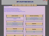 Gratis je eigen startpagina of website bij Startbewijs.nl