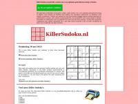 KillerSudoku.nl - Killer Sudoku's online oplossen of printen