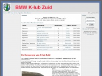 Klubzuid.nl - BMW K-lub Zuid Website