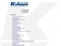 Kolappus.nl - kolappus site design, web-design applicaties - digitale media, Haarlem, Velsen, webdesign en ontwerp