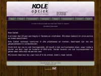 Koleoptiek.nl - Kole optiek - Dé optiek gespecialiseerd in brillen en contactlenzen.