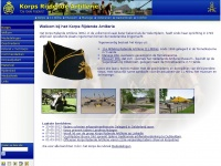 Korpsrijdendeartillerie.nl - Korps Rijdende Artillerie – De Gele Rijders, nieuws, media, archief