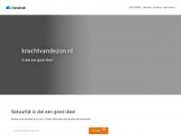 Krachtvandezon.nl - Hostnet, domeinnaamregistratie, webhosting, dedicated hosting, VPS