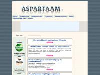Aspartaam informatie site. Bron van FEITELIJKE informatie.