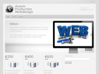 Assem Producties Webdesign