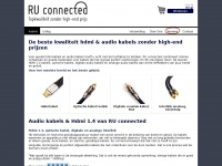 Ruconnected.nl - Beste kwaliteit HDMI kabels en audiokabels - RU connected