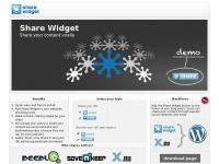 Share-widget.com - Share Widget - The Social Sharing Button for Your Content