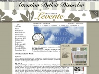 Levente.nl - ADD: Presentatie overwegend / restrictief onoplettend - Attention Deficit Disorder