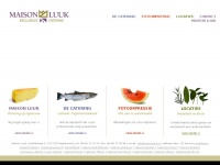 Exclusieve catering en culinair entertainment; Maison Luuk