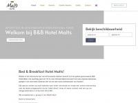 Welkom - Malts Hotel