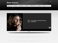 Homepage - Maria Genova