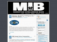M.I.B. - Marketing Intelligence Blog