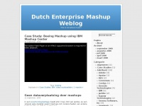 Dutch Enterprise Mashup Weblog | This is not about music!