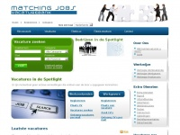 Vacatures zoeken, vind de baan die bij jou past! | Matchingjobs-vacaturebank.