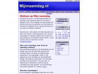 Mijnnaamdag.nl - Welkom op Mijn naamdag