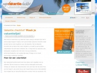 mijnvakantiechecklist.nl