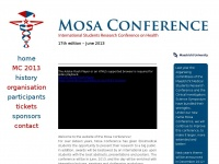 Mosa Conference | 18th Edition | June 18th 2014