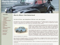 Morris Minor Club Nederland - Home
