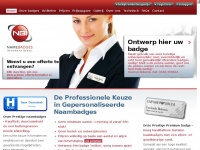 Name Badges International - Naambadges (Beste Keuze) - Magneet Badges