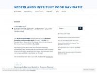 Nederlands Instituut voor Navigatie – Vereniging voor Plaatsbepaling, Navigatie en Timing