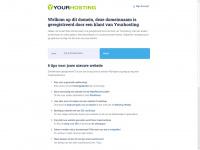 Deze domeinnaam is geregistreerd door een klant van Yourhosting.nl
