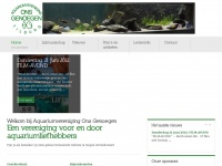 Aquariumvereniging Ons Genoegen - Voor en door aquarium liefhebbers