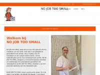 Nojobtoosmall.nl - My website