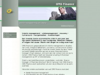 Oms-finance.nl - Interimmanagement en consultancy
