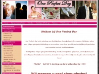 One Perfect Day | Bruids- & galakleding! | Bruids & galakleding Parkstad