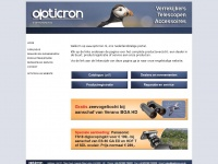 Opticron.nl - Opticron Homepage Netherlands