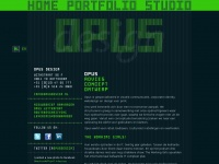 Opusdesign.nl - Opus Design homepage
