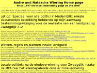 Andre and Natascha Wiering Home page