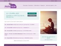 De spirituele en paranormale beurs - Paraview - Beurzen in heel nederland